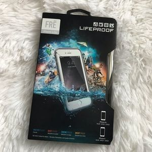 Lifeproof FRE Waterproof iPhone Case 6/6s White